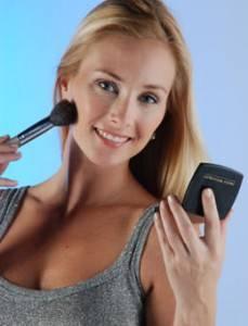 maquillaje de pelo rubio