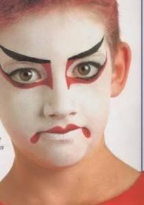 Maquillaje japon