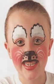 maquillaje cara raton