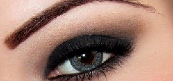ojos ahumados