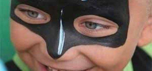 maquillaje de batman