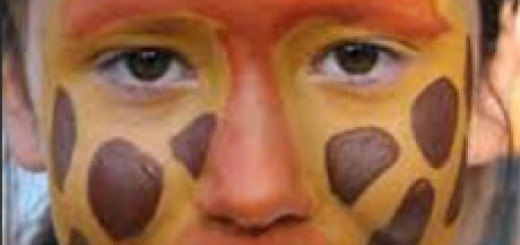 maquillaje de jirafa