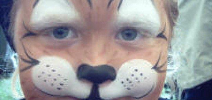 maquillaje de conejo infantil