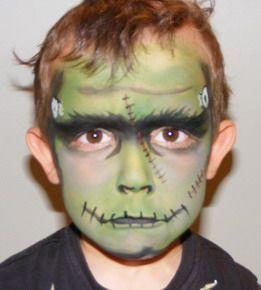 maquillaje Frankenstein