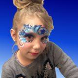 maquillaje antifaz infantil