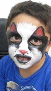 Maquillaje de lobo infantil
