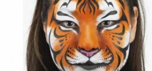 Maquillaje de tigre
