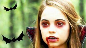 maquillaje de vampiresa infantil para niñas
