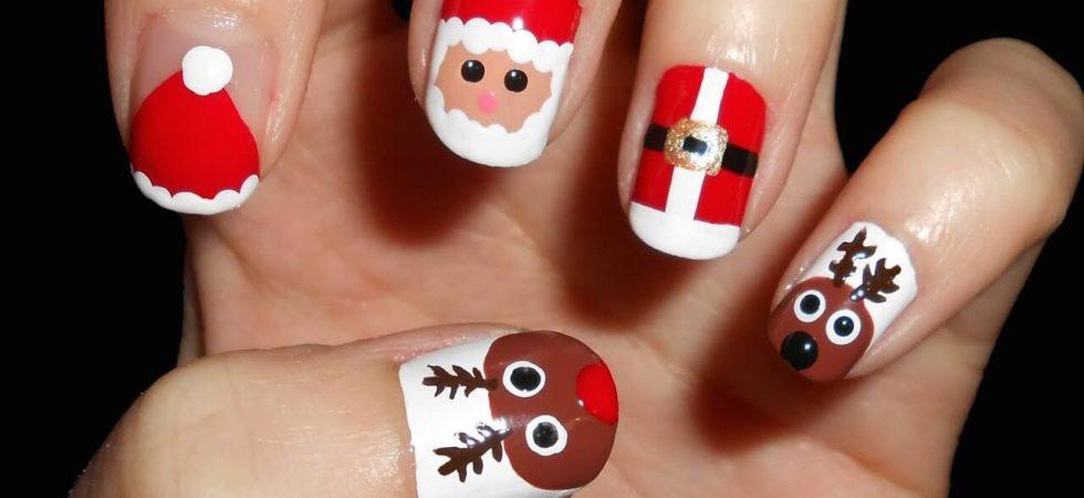 La manicura navideña